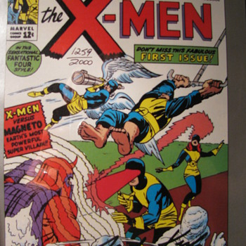 Copies of X-men Signed by Jack Kirby and of Generation X Signed by Scott Lobdell - Comic Books