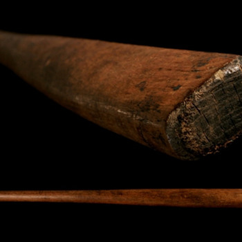 FLAT BAT - CIRCA 1860's-1880's