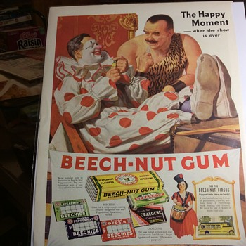 Gumby's Gone Nuts at the Beech  - Advertising