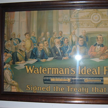 Dynamite Watermans Pens sign!