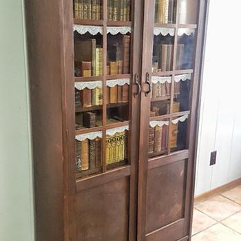 Old German cabinet - Furniture