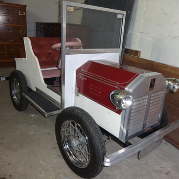 Had this Electric Childs Car in garage for over 30 years - Classic Cars