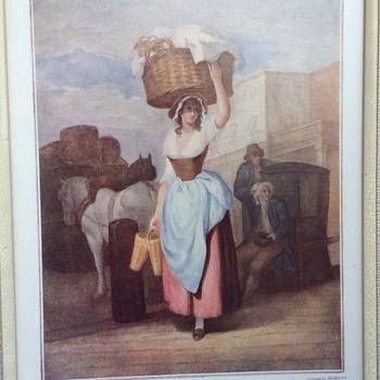 Antique print - Fine Art