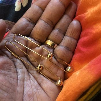 Unusual 14k Gold Earrings - Fine Jewelry