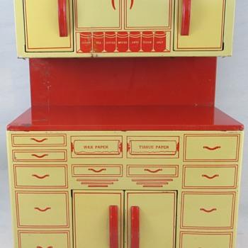 Baking Cabinet - Toys
