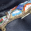 Micro Mosaic little shoe brooch
