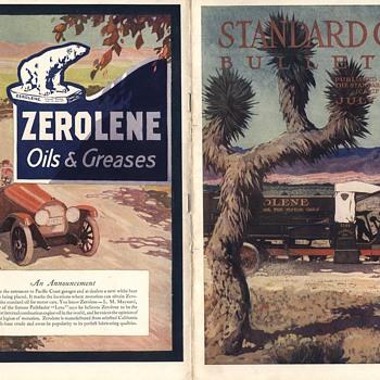 Standard Oil Bulletin July 1916 Magazine Maynard Dixon - Paper