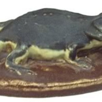 Horned toad paperweight - Animals