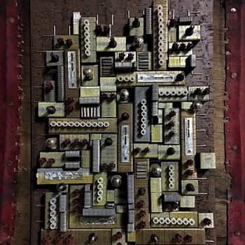 Artistically Repurposed Construction Hardware  - Folk Art