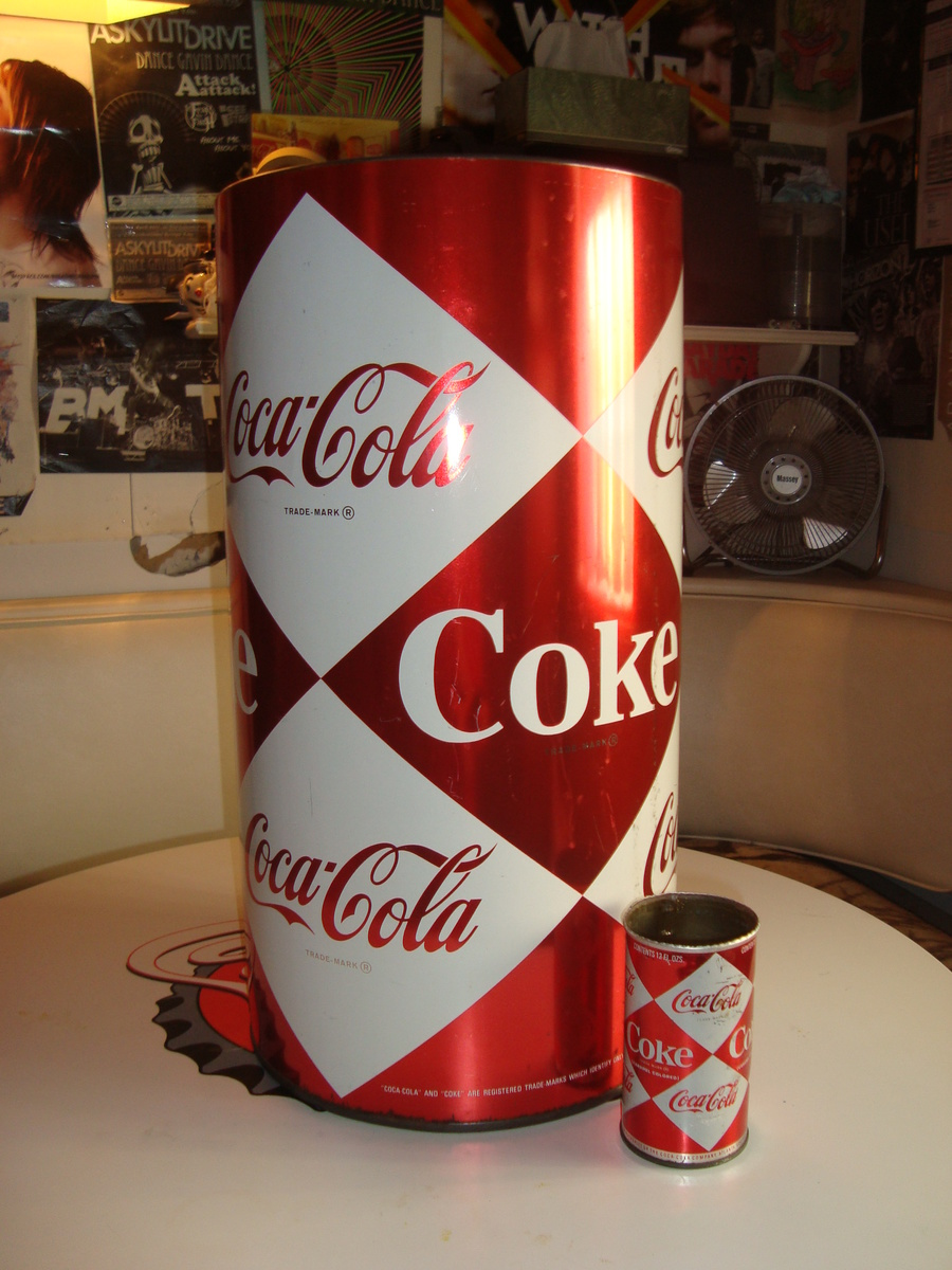 1960 S Large Diamond Coca Cola Can Collectors Weekly