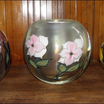Three Vases Spanning Three Lotton Generations - Art Glass