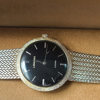 Vintage Longines Cosmo (Manual 14Kt) - Wristwatches