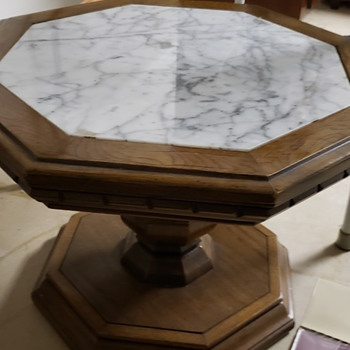 Italian marble end tables - Furniture