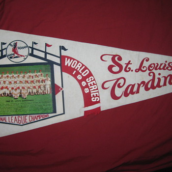 1968 STL Cardinals National League Champions Pennant