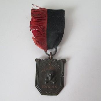 Med Secretary Pin/Medal - Costume Jewelry