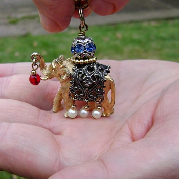 Napier Elephant Bracelet - Costume Jewelry