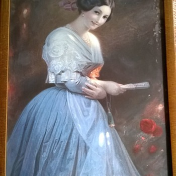 Old Framed Print, Thrift Shop Find $2.50 - Fine Art
