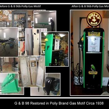 My restored gas pumps part 2 - Petroliana