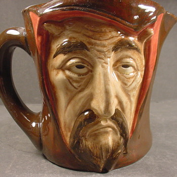 Doulton Mephistopheles jug, a study in human nature - Pottery