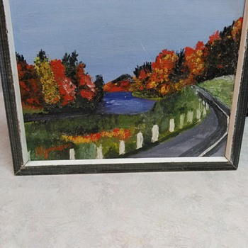 OIL LANDSCAPE PAINTING - Fine Art