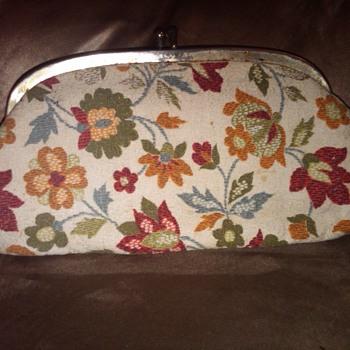 Flower Design Ladies Clutch - Bags