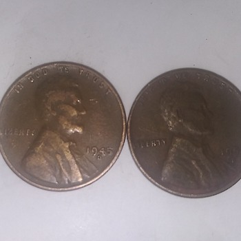 Wheat penny  - US Coins