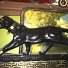 Art Deco black panther light
