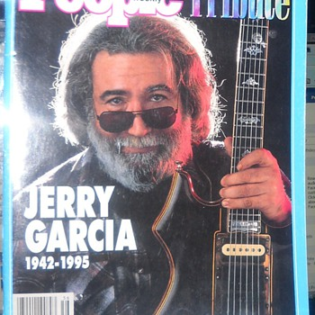 People Magazine Special Tribute to Jerry Garcia Sept/Oct '95 - Music Memorabilia