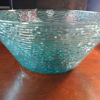 Blue bowl - Glassware