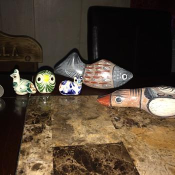 Tonala Mexican pottery  - Pottery