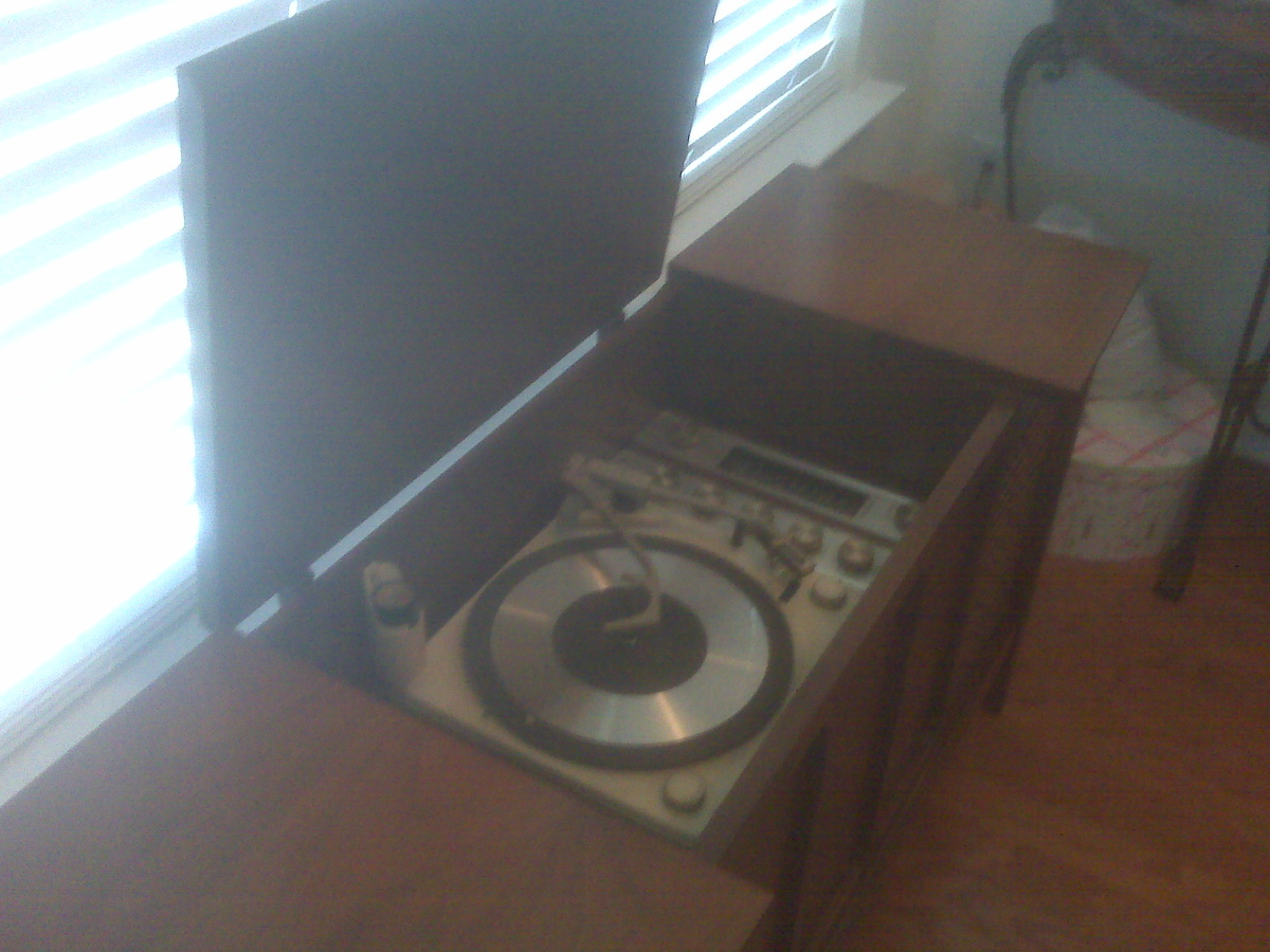 1960 S General Electric Record Player Radio Phonograph