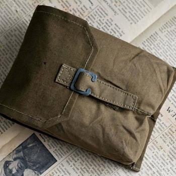 Messenger bag, Canvas bag, Military bag, Army bag, Vintage military bag - Military and Wartime