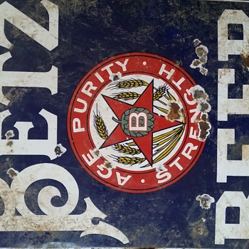 Betz Beer Metal Sign - Signs