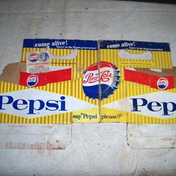 pepsi 6 pack holder - Advertising