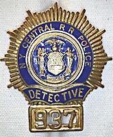 railroadiana badges