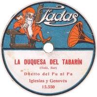 Fadas 78 rpm record