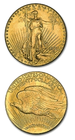 Double Eagle Collectible Gold Coins