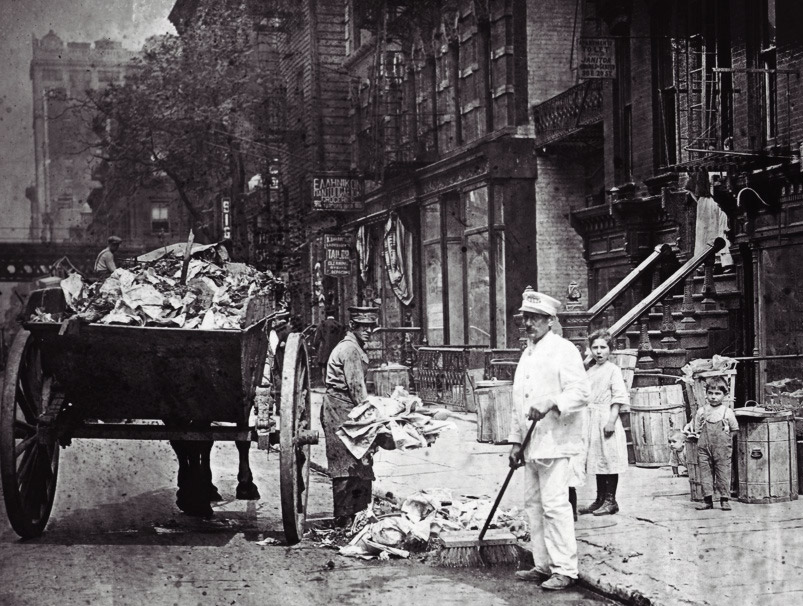 A Filthy History When New Yorkers Lived Knee Deep In Trash Collectors Weekly