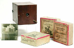 Ingersoll Sure Shot Detective Camera with dry plates c. 1897