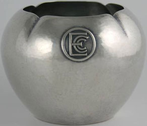 ECC in circle on one side, engraved