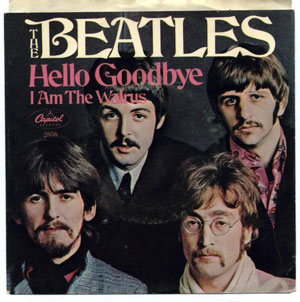Hello Goodbye/I Am The Walrus: Released October 27, 1967