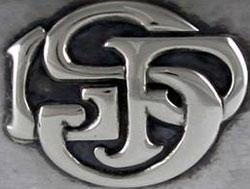 monogram off kalo vase