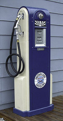collectors weekly aside from pumps what are the major items that make up petroliana