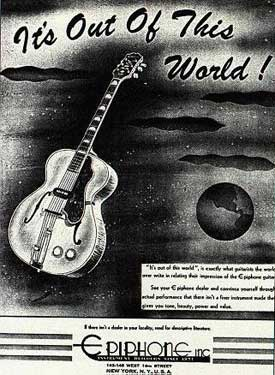 December 1947 Epiphone ad