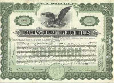 Taking of Scripophily – Stock Certificate Example