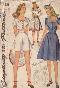 1940s Simplicity pattern