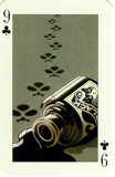 9 of Clubs – Key to the Kingdom, a modern transformation deck, designed by Tony Meeuwissen, printed in China, 1992.
