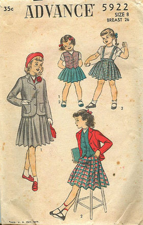 Advance vintage pattern