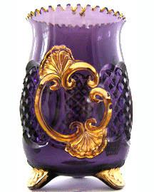 Croeses celery vase in Riverside Pattern c. 1897