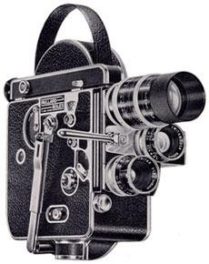 H-16 Reflex 16mm Camera 1956